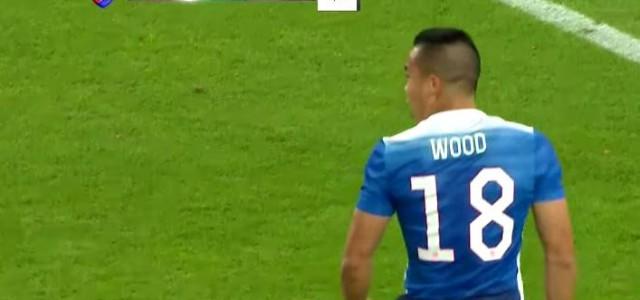 Bobby Woods Siegtreffer zum 2:1 gegen Deutschland