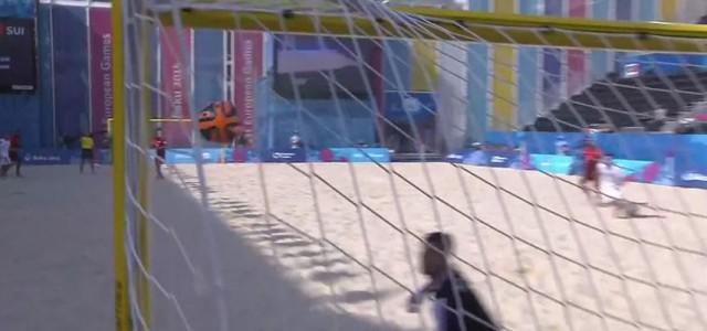 Super Tor von Beach-Soccer-Legende Madjer