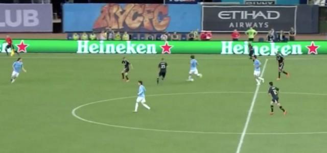 MLS: Andrea Pirlo legt Treffer von David Villa auf