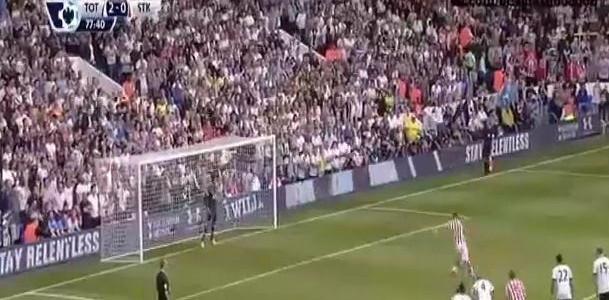 Marko Arnautovic verwandelt Elfmeter gegen die Hotspurs