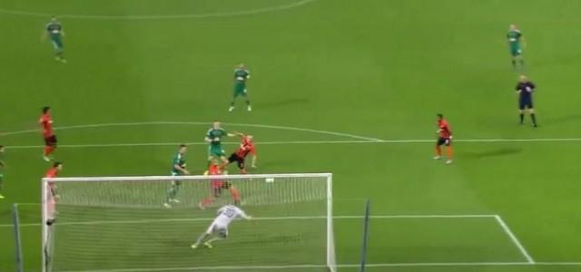 Andriy Pyatovs unglaubliche Parade gegen den SK Rapid Wien