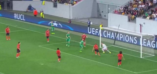 Schaubs Treffer gegen Shakhtar zum 1:1-Ausgleich