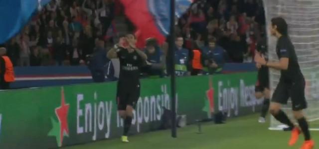 Ángel Di María trifft gegen Malmö (1:0)