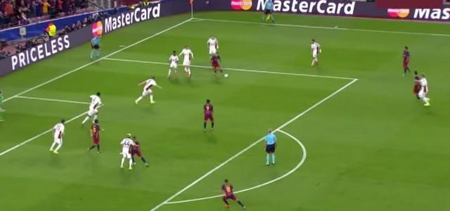 Suarez schießt Traumtor gegen Bayer Leverkusen (2:1)