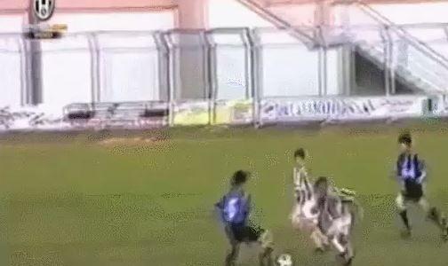 Claudio Marchisio trifft als 12-Jähriger (1998)