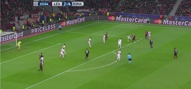 Kevin Kampls Traumtor gegen die AS Roma
