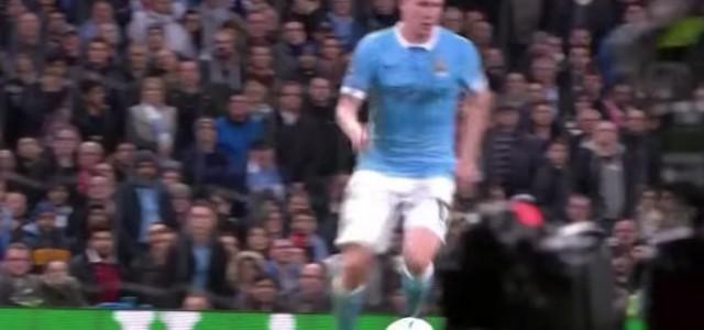 Kevin De Bruyne schießt City zum 2:1-Sieg gegen Sevilla
