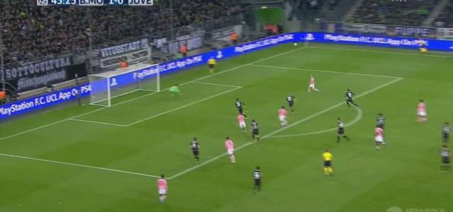 Stephan Lichtsteiners Treffer gegen Gladbach