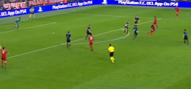 David Alabas Traumtor gegen Arsenal (3:0)