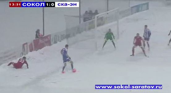 Ideale Bedingungen in der zweiten russischen Liga