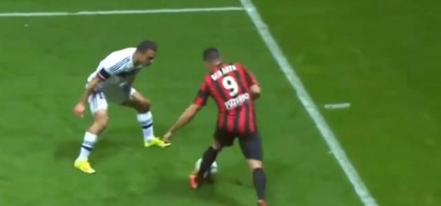 Ben Arfas Elastico gegen Olympique Lyon