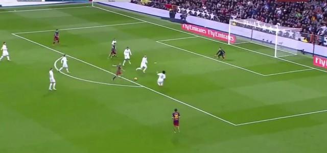 Iniestas Traumtor zum 3:0 gegen Real Madrid
