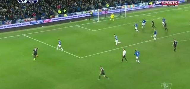 Zweiter Arnautovic-Assist gegen Everton (3:3)