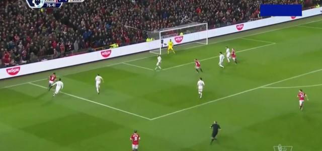 Wayne Rooneys Traumtor gegen Swansea