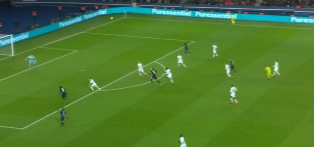 Super Kombination von PSG gegen SCO Angers