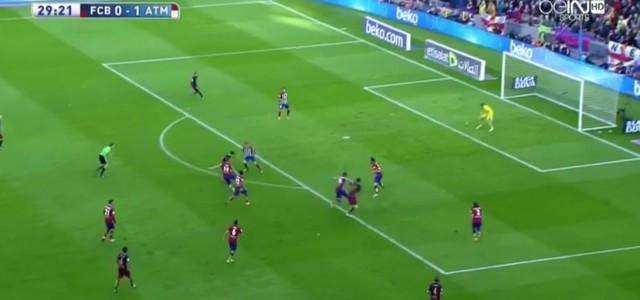 Barcelonas Dominanz vor dem Ausgleich gegen Atletico