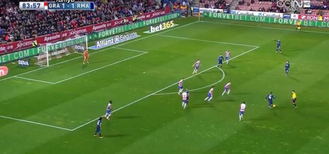 Luka Modric mit Traumtor gegen Granada