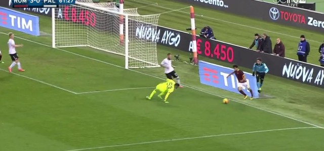 Mohamed Salahs Kunstschuss gegen Palermo
