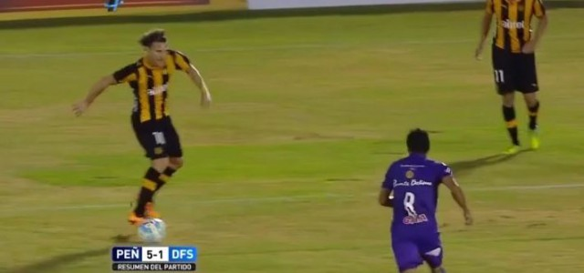 3 Treffer, 2 Assists: Diego Forlans Gala gegen Defensor