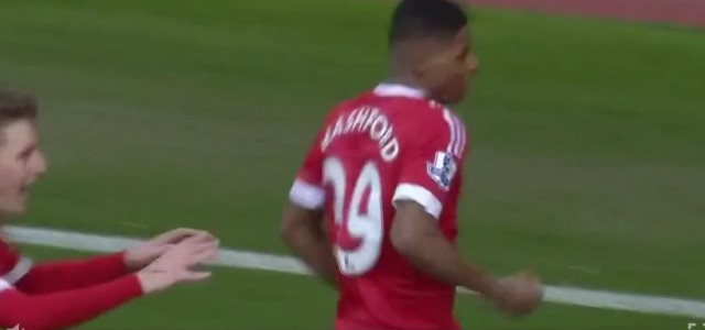Rashfords Doppelpack gegen Arsenal