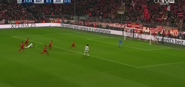 Juan Cuadrados Traumtor gegen den FC Bayern München