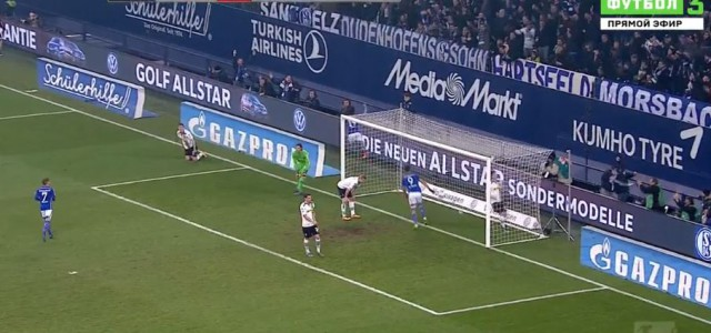 Hintereggers Fauxpas gegen den FC Schalke 04