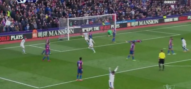 Leicesters Siegtreffer gegen Crystal Palace
