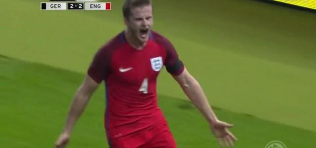 Eric Diers Siegtreffer gegen Deutschland (3:2)
