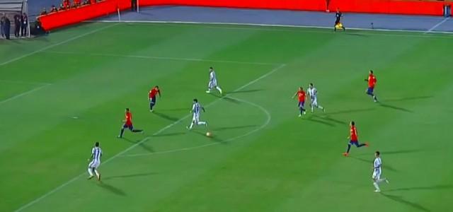 Messis Sololauf gegen Chile