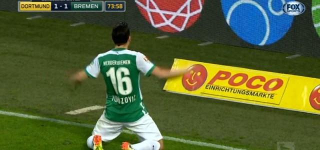 Junuzovic trifft gegen Borussia Dortmund