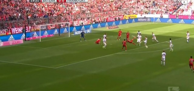 Riberys Traumtor gegen Eintracht Frankfurt