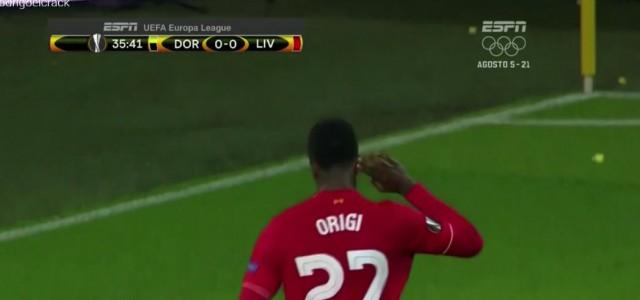 Divock Origi bringt LIverpool gegen Dortmund in Führung