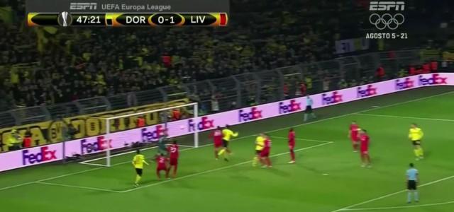 Mats Hummels gleicht gegen Liverpool aus (1:1)