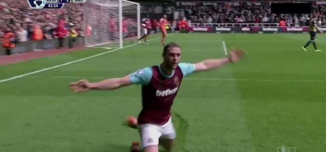 Andy Carolls Hattrick gegen Arsenal (3:3)