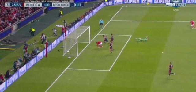 Benfica geht gegen FC Bayern in Führung