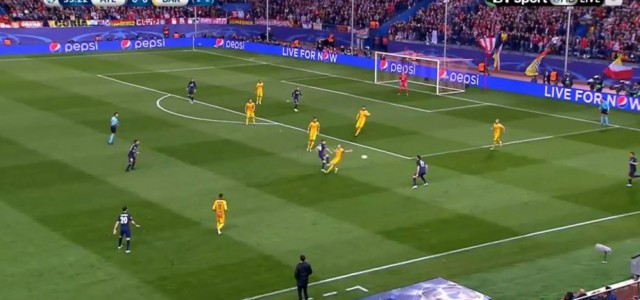 Antoine Griezmann trifft gegen den FC Barcelona