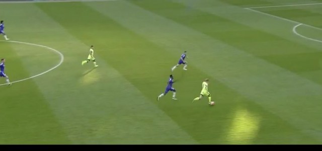 Agueros Hattrick gegen Chelsea