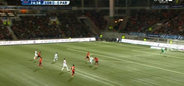 Zlatan Ibrahimovic trifft im Cup gegen Lorient