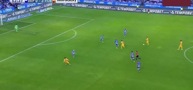 Deportivo La Coruña-  FC Barcelona 0:8 (alle Tore)