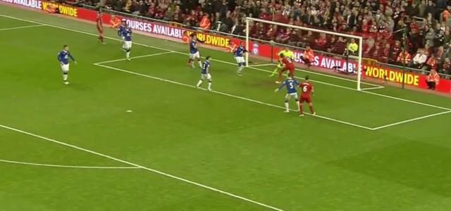 Zwei starke Szenen von Mamadou Sakho (Liverpool) gegen Everton