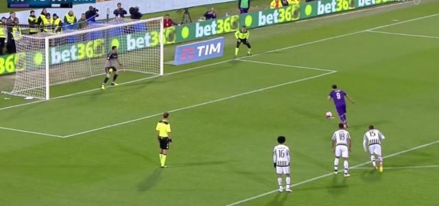 Buffon hält Elfmeter gegen Fiorentina