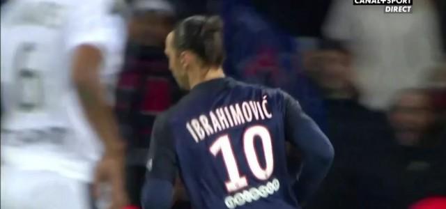 Zlatan-Doppelpack gegen Rennes (4:0)