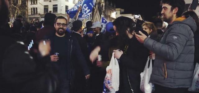 So feierten die Leicester-Fans die Meisterschaft