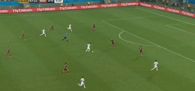 Russland – Südkorea 1:1 (Die Tore der Partie)
