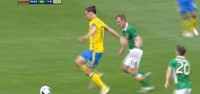 Schweden gleicht zum 1:1 gegen Irland aus