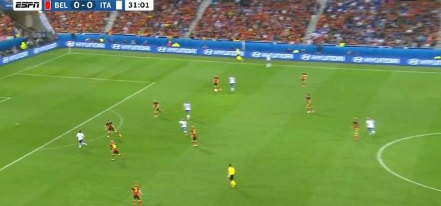 Giaccherini trifft gegen Belgien zum 1:0