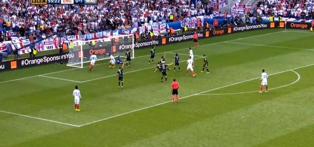 Vardy trifft elf Minuten nach seiner Einwechslung gegen Wales (1:1)