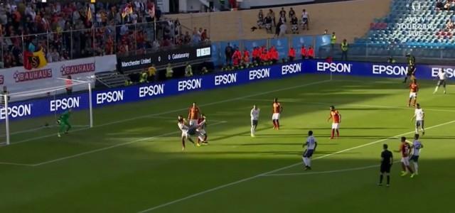 Ibrahimovic trifft spektakulär bei United-Debüt