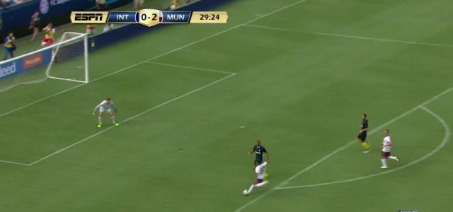 Julian Greens Hattrick gegen Inter