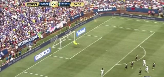 Mariano Díaz erzielt Traumtor gegen Chelsea
